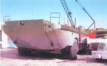 LARC Amphibious Vehicles